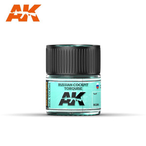 AK Interactive Real Colors - Russian Cockpit Torquise 10ml