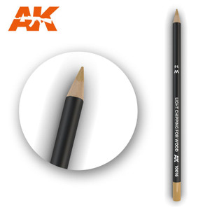 AK Interactive Watercolor Pencil - Light Chipping for Wood