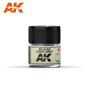 AK Interactive Real Colors - AE-9 / AII Light Grey 10ml