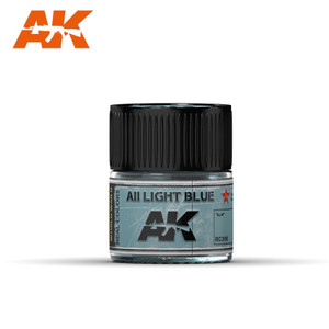 AK Interactive Real Colors - AII Light Blue 10ml