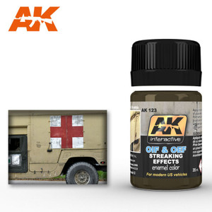 AK Interactive Streaking Effects for Oif & Oef - For US Vehicles 35ml