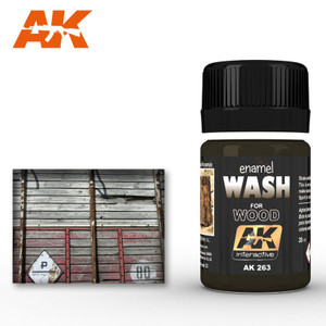 AK Interactive Wash - For Wood 35ml