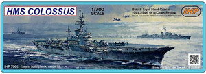 Imperial Hobby Productions 1/700 Scale HMS Colossus 1945