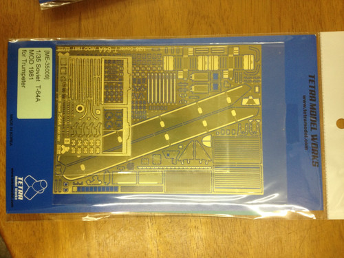 1/35 Tetra Models T-64A 1981Mod Photo Etch for Trumpeter