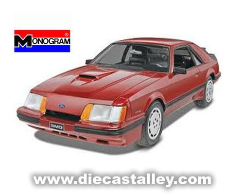 1/24 Monogram 1985 Ford Mustang SVO (Kit)
