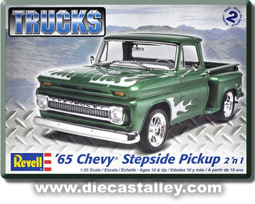 1/24 Revell 1965 Chevy Stepside Pickup Truck (2n1 Kit)