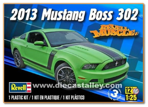 1/25 Revell 2013 Mustang Boss 302 (Kit)
