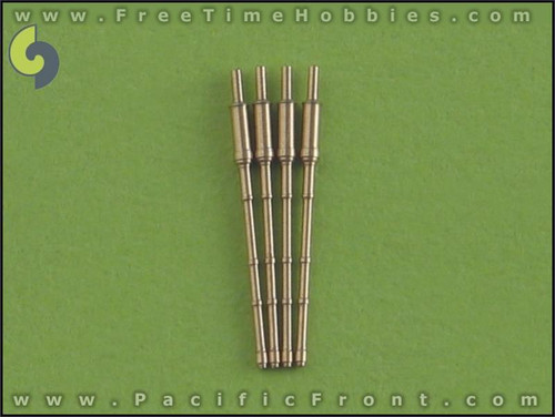 1/700 Master Models Russia/USSR 130 mm/70 (5.1in) AK-130 barrles (4pcs) Sovremenny Slava and Kirov Gun Barrels