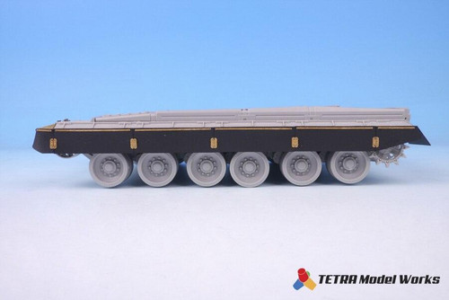 Tetra Model Works 1/35 Tetra Models Russian T-80B Side Skirts set for Trumpeter