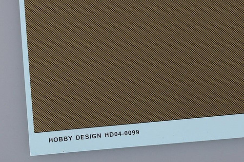 Hobby Design Hobby Design Carbon Kevlar Decal A -M For 1/12 Scale model