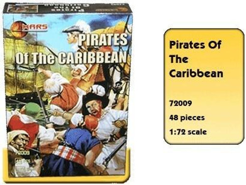 All Other Brands 1/72 Mars Models Pirates of the Caribbean Figure Set 48 figures