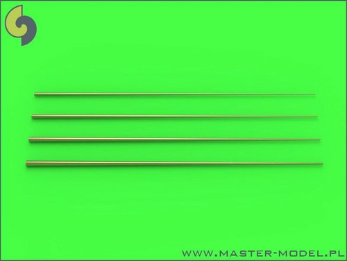 Master Models 1/350 Master Models Set of universal tapered masts No1 length = 100mm each, diameters = 0,3/1,2mm; 0,4/1,5mm; 0,5/1,8mm; 0,6/2mm