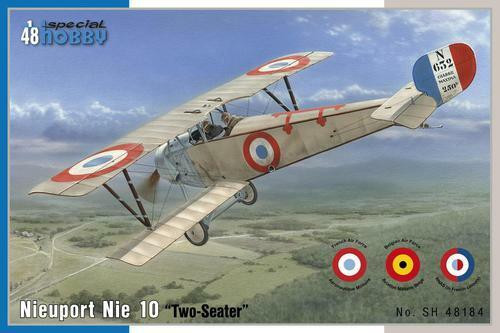 Special Hobby 1/48 Special Hobby - Nieuport 10 Two Seat Version