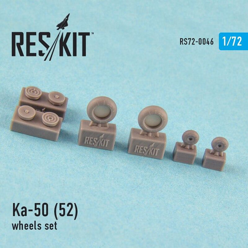 Reskit 1/72 Reskit Ka-50 52 all versions wheels set