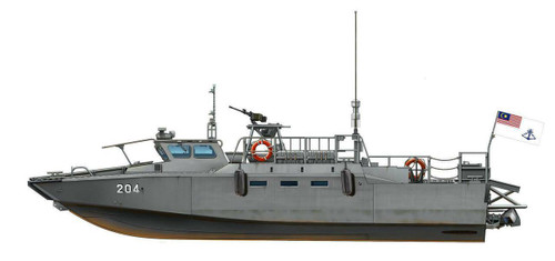 Tiger Model 1/35 Tiger Models Sweden CB90 Fast Assault Craft Boat