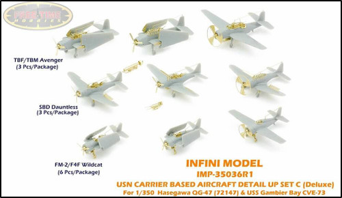 Infini Models 1/350 Infini Models USN Carrier Based Aircraft DETAIL UP Set C - Advanced