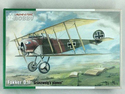 Special Hobby 1/32 Special Hobby Fokker DII Grunzweigs Planes