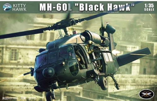 Kitty Hawk Models 1/35 Kitty Hawk MH60L Black Hawk Combat Helicopter