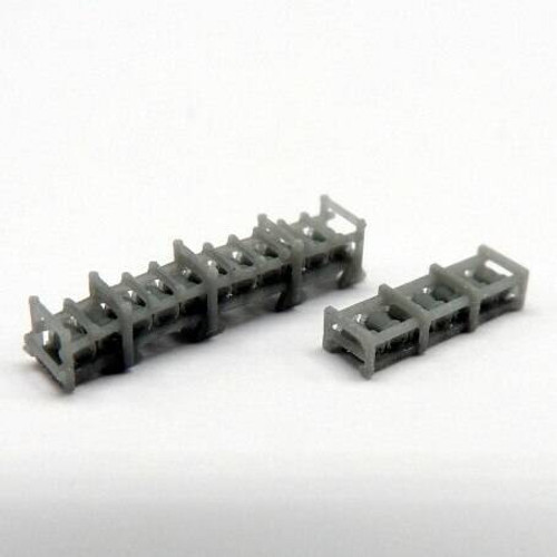 Black Cat Models 1/350 BLACK CAT MODELS MK.3 EXTENDED RELEASE TRACK FOR MK.9 DEPTH CHARGES STOWAGE TRACKS X2
