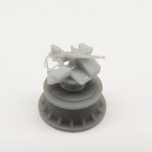 Black Cat Models 1/350 Black Cat Models 40MM BOFORS GUN ON MKV SINGLE BOFFIN MOUNT X4