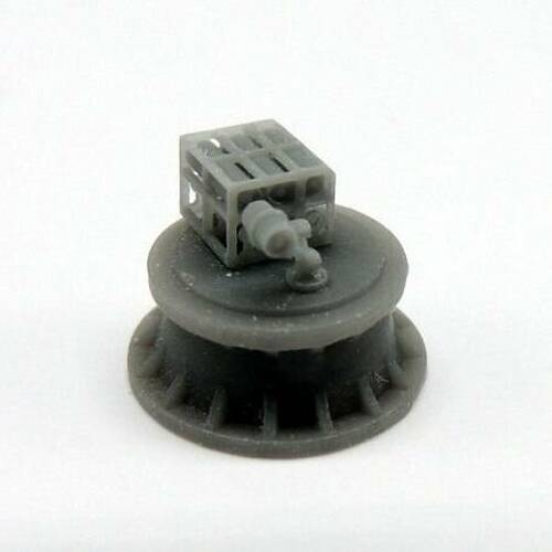 Black Cat Models 1/350 BLACK CAT MODELS K-GUN MOD.0 WITH MK.6 DEPTH CHARGES X4