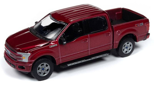 AutoWorld Auto World 1/64 2020 1A - 2018 Ford F-150, Ruby Red Metallic