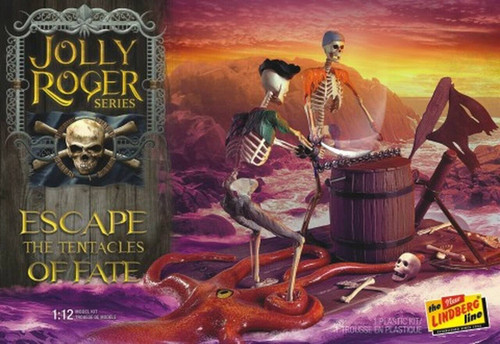 Lindberg 1/12 Lindberg Jolly Roger Series Escape the Tentacles of Fate Scale Model Kit