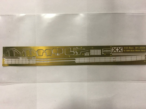 Yankee Modelworks 1/350 Yankee Models Photo Etch for USS Bass