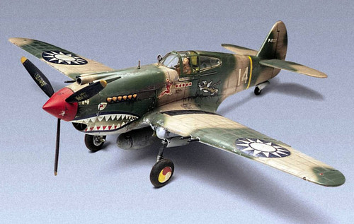 Revell 1/48 Revell P-40B Tiger Shark Model Kit