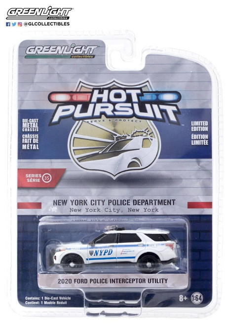 Greenlight Greenlight 1/64 New York City Police Dept NYPD - 2020 Ford Police Interceptor Utility
