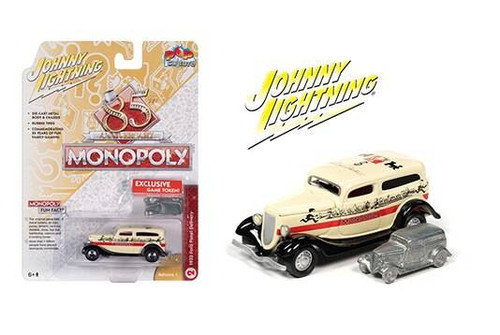 Johnny Lightning Johnny Lightning Monopoly 1933 Ford Panel Delivery and Token