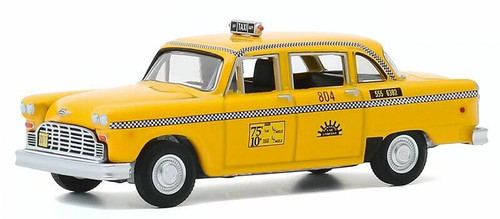 Greenlight 1/64 1974 Checker Taxi Sunshine Cab Company #804 - Taxi TV Series, 1978-83