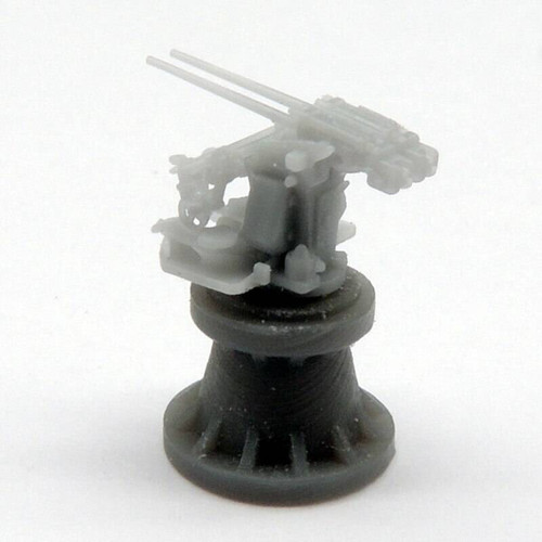 Black Cat Models 1/350 Black Cat Models 3.7CM FLAK SK C30 TWIN ON DOPP MOUNT X4