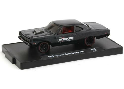 M2 Machines 1/64 M2 Drivers 68 1969 Plymouth Road Runner 440