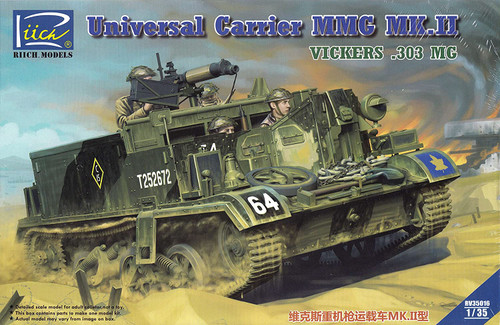Riich Models 1/35 Scale Universal Carrier MMG Mk.II (.303 Vickers MMG Carrier)