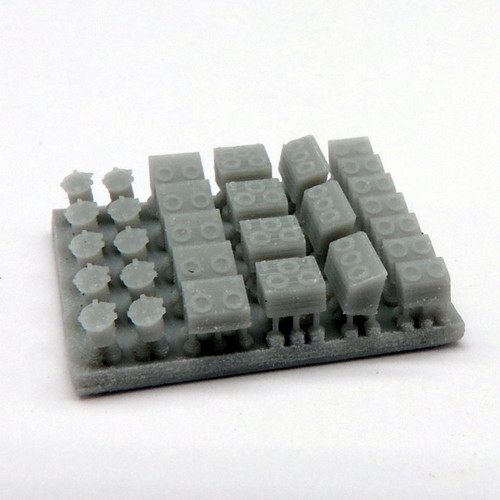 Black Cat Models 1/350 Scale Deck Accessory Set N°2 ( Deck Hatches)