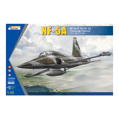 Kinetic Models 1/48 Scale Nf-5A / F-5A / Sf-5A Freedom Fighter