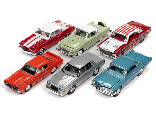 Racing Champion 1/64 Scale Mint 2020 Release 1 Case (6 Car Sealed Set)