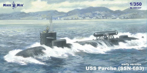 MikroMir 1/350 Scale SSN-683 Parche (early version)