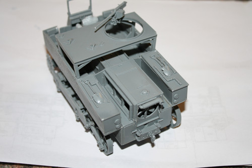 Commander Models 1/35 Scale M5 High Speed Tractor