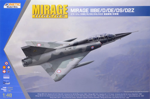 Kinetic Models 1/48 Scale Mirage IIID/DS