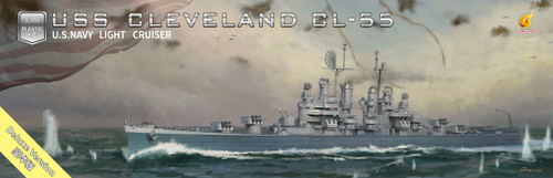 Very Fire 1/350 Scale USS Cleveland CL-55 Deluxe Edition