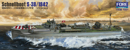 Fore Hobby 1/72 Scale Schnellboot S-38