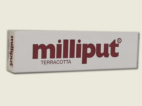 Milliput Terracotta Two Part Epoxy Putty 4 oz Package