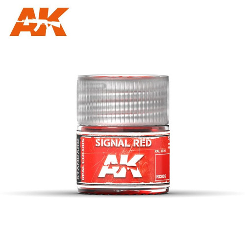 AK Interactive Real Colors - Signal Red 10ml