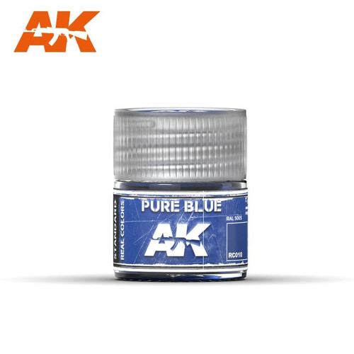 AK Interactive Real Colors - Pure Blue 10ml