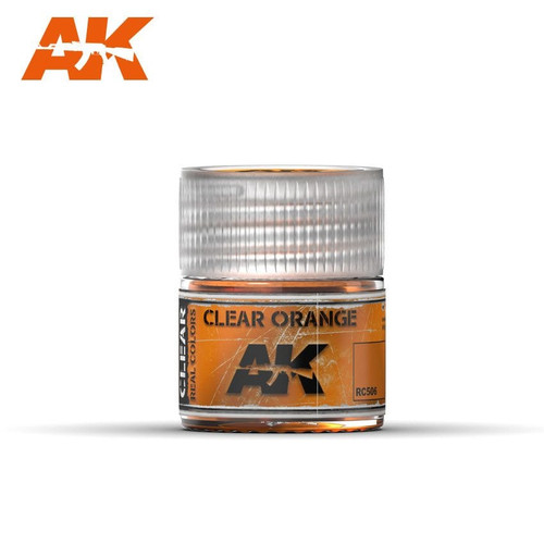 AK Interactive Real Colors - Clear Orange 10ml