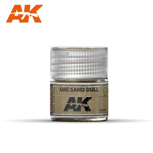 AK Interactive Real Colors - UAE Sand Dull 10ml