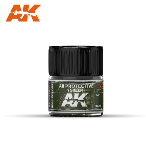 AK Interactive Real Colors - AII Green 10ml