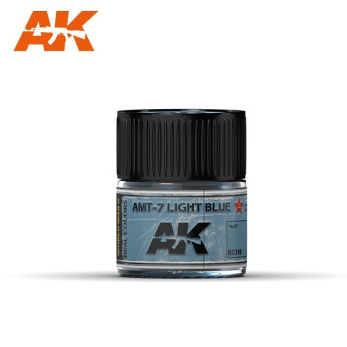 AK Interactive Real Colors - AMT-7 Light Blue 10ml